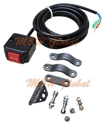 ATV Rocker Winch Handle Bar Mount Remote Control Thumb Switch UTV ATV Switch (Winch Control Panel compare prices)