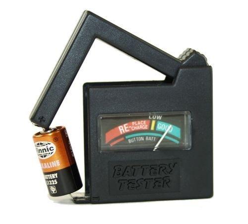Wentronic Batterietester mit Display für Batteriezustand