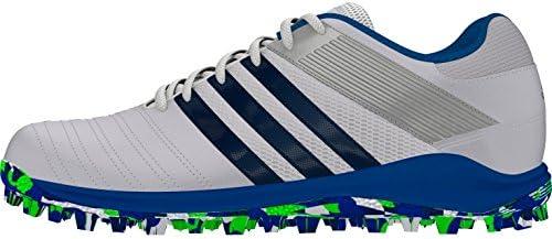 adidas SRS.4 Men's Hockey Shoe, White/Blue, UK10: Amazon.co.uk ...
