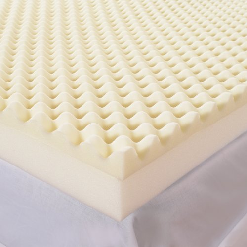 UPC 848625001459, Sleep Comfort 5-Inch High Loft Mattress Makeover Memory Foam Topper, Full