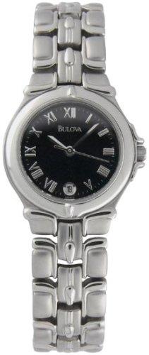 Bulova Bracelet Black Ladies Watch 96M13