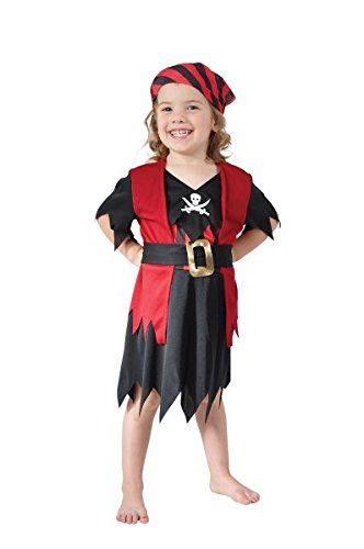Toddlers Pirate Girl Costume (Pirate Costume For Toddler Girl)
