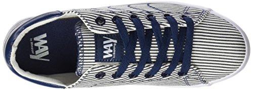 BEPPI Canvas Shoe, Zapatillas de Deporte para Niños Azul (Navy Blue)