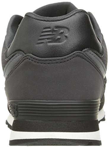 New Balance Unisex-Kinder Kl574wtg M Sneakers Black/White 2