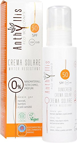 ANTHYLLIS – Solar Spray Spf 50 – Water Resistant – Without Chemical nanomaterials and Filters – Perfect for sensitive skin – 100 ml
