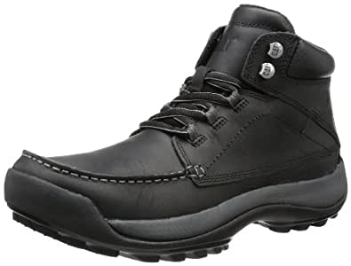Caterpillar Wildcard Mens Leather Ankle Boots / Shoes - Black - SIZE US 7