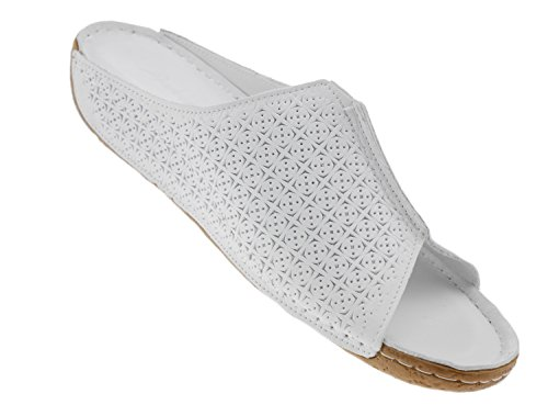 Conti Weiß Mules pour Femme Andrea Yx6Tqw6