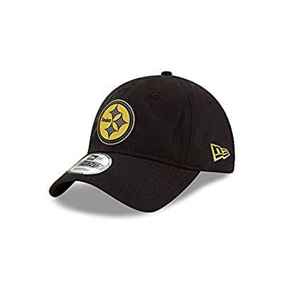 Pittsburgh Steelers Black and Gold 9TWENTY Adjustable Hat / Cap from New Era