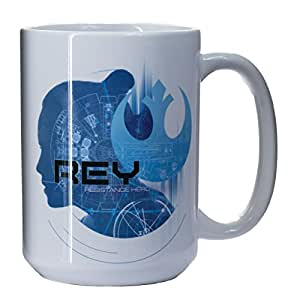 Star Wars The Last Jedi Collectible Mugs (Rey Resistance Hero)