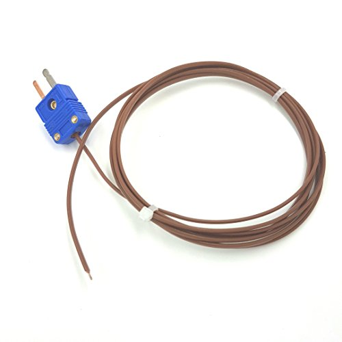 Perfect-Prime TL0024TT, Thermocouple T-Type Low Temperature Sensor/Probe, -200~260°C / -328~500°F, 2 Meter Long (Low Temperature Sensor)