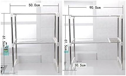 DoubleBlack Soporte para Microondas Estanterías / Estante de Cocina