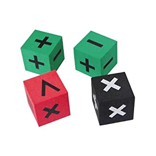Teacher Created Resources Foam Operations Dice (20605)