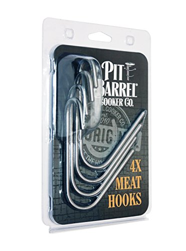 Pit Barrrel Cooker Stainless Steel Meat Hooks (set of 4) (Pit Barrel Cooker Package)