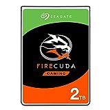 Seagate ST2000LX001 FireCuda - Disco duro para videojuegos (SATA de 6 Gb/s, 8 GB), 2 TB