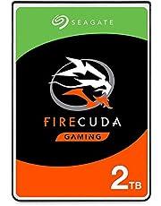 Seagate 2TB FireCuda Gaming SSHD SATA 6Gb/s Flash Accelerated (8GB) Performance Hard Drive - Frustration Free Packaging (ST2000LXZ01)