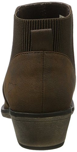 Ladies Brown Womens Dog Boots Alarm Rocket Ankle wUFqERR