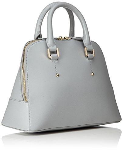 Pollini Damen Bag Henkeltasche, Grau (grigio), 31x14x23 Cm