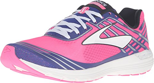Brooks Womens Asteria Knockout Pink Clemantis Black Sneaker 7 5 B  M