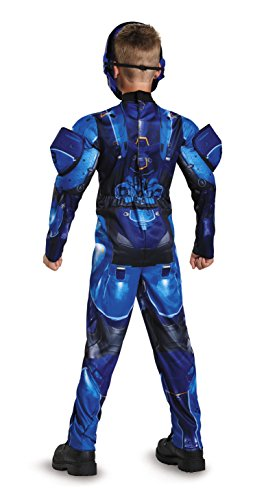 Blue Spartan Classic Muscle Halo Microsoft Costume, Medium/7-8 - http://coolthings.us