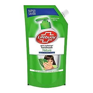 Lifebuoy Nature Germ Protection Handwash Refill, 750 ml
