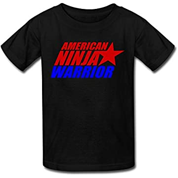 American Ninja Warrior T-Shirt Black Medium