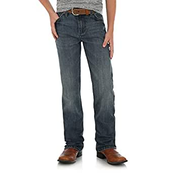 Wrangler Boys' Little 20X Slim Fit Straight Leg Jean, Odem, 4 Reg