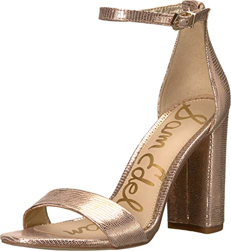 Sam Edelman Women's Yaro Sandals, Blush Gold, 4 M US