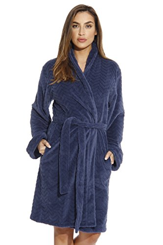 6312-Navy-M Just Love Kimono Robe / Bath Robes for Women