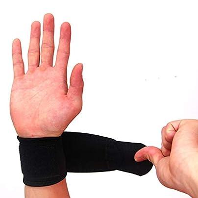 qianzhi Sport Wristband Adjustable Wrist Guard Band Brace Support Carpal Pain Wraps Bandage Bandage Wrist bracer Support Estimated Price -