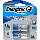 Energizer Ultimate Lithium AAA Batteries, World's Longest-Lasting AAA Battery in High-Tech Devices (4 pack) Review