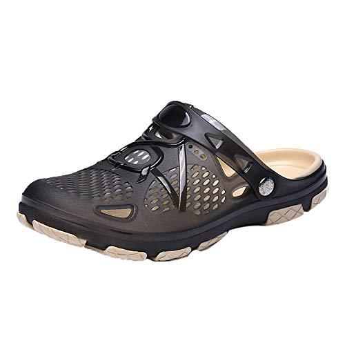 9d20f0be61818 Sabots Hommes Pantoufles Femmes De Perforés sabot Chaussures Subfamily Noir  Respirant Plage D été Sport Mules ...