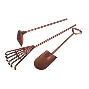 Fiddlehead fairy village mini garden tools 3 for Gardening tools on amazon