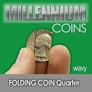 Folding Quarter - Wavy Cut - Millenium