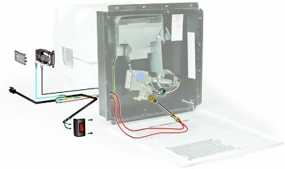 amazon.com: camco hot water hybrid heat kit - easily converts any 6-gallon  rv lp gas water heater to 120v electricity to conserve propane (11673):  automotive  amazon.com