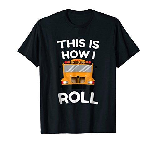 Funny School Bus Driver Shirt Gift Students School Kids