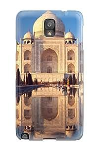 Unique Design Galaxy Note 3 Durable Tpu Case Cover Taj Mahal Agra India Hd