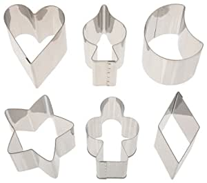 Ateco Fancy Shaped Stainless Steel Cutter Set