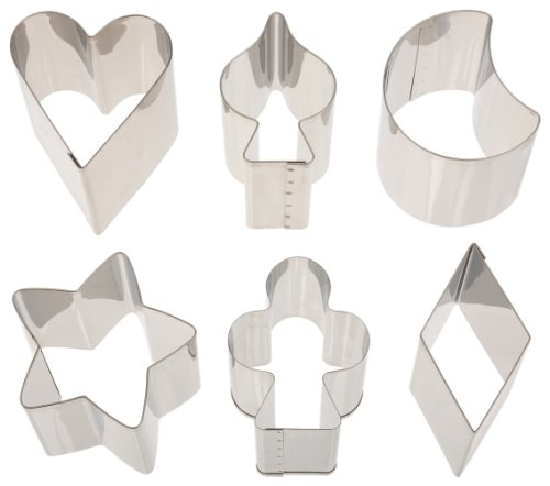 Ateco 1428 Shapes Cutters Stainless