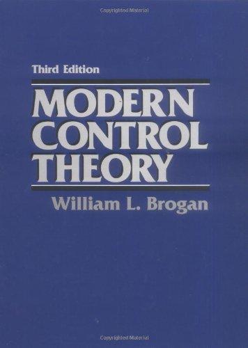 Modern Control Theory (3rd ()