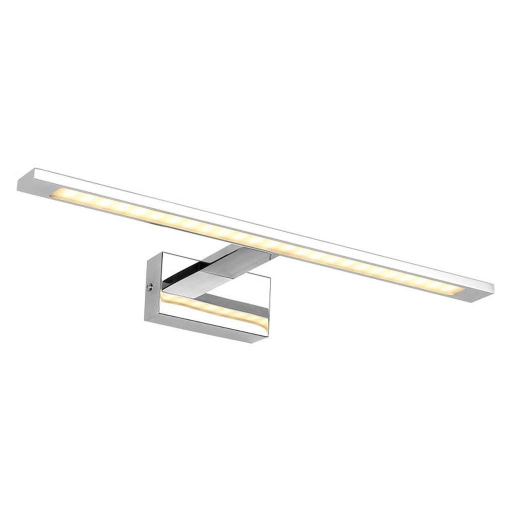 ヨーロピアンスタイルのシンプルでモダンなバスルームドレッシングテーブルミラーライトLEDミラーフロントライト、ウォールランプ省エネランプ Guodishangmao (Color : Warm light, サイズ : 48CM10W) 48CM10W Warm light B07SVTY521