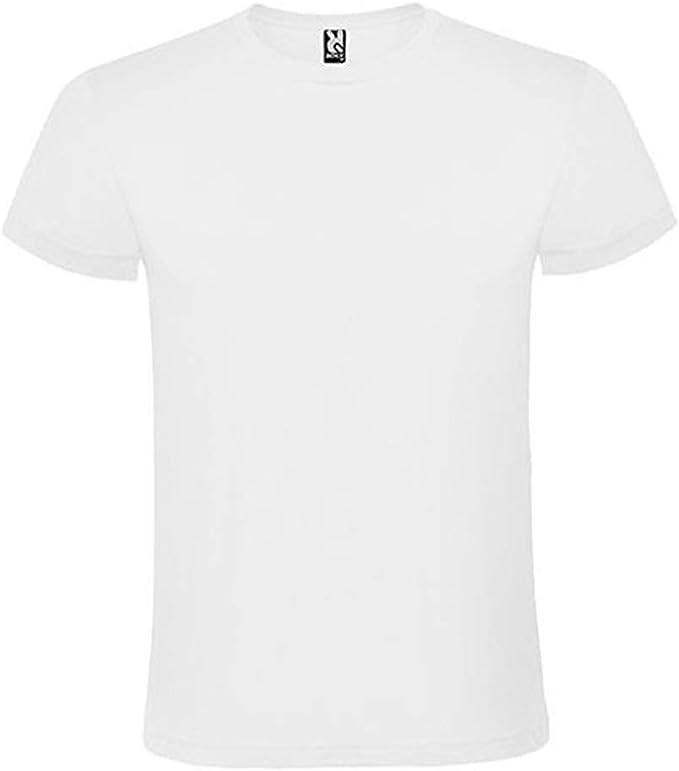 ROLY Pack de 3 Camisetas 100% Algodón de 150 g/m2. Marca Blancas o ...