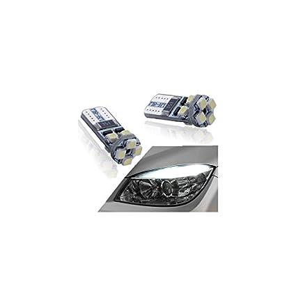 Zesfor Pareja de Bombillas LED canbus para posición Delantera w5w / t10