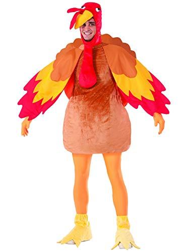 Forum Novelties Gobbles The Turkey Costume, Multi, Standard