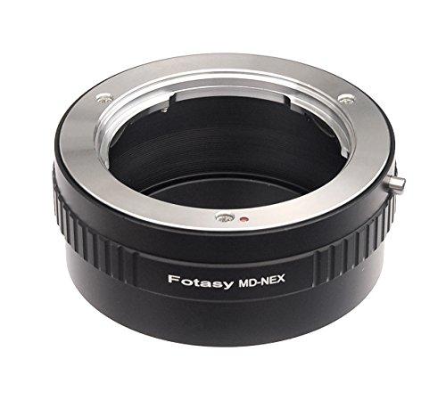 Fotasy Minolta MD Lens to Sony E-Mount NEX Camera NEX-5N NEX-5R NEX-5T NEX-6 NEX-7 a6300 a6000 a5100 a5000 a3500 a3000 NEX-VG30 NEX-VG900 NEX-FS100 NEX-FS700 NEX-EA50 PXW-FS7 Adapter