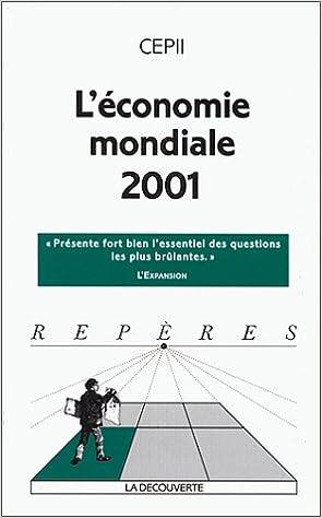 Livre gratuits L'Economie mondiale 2001 pdf epub