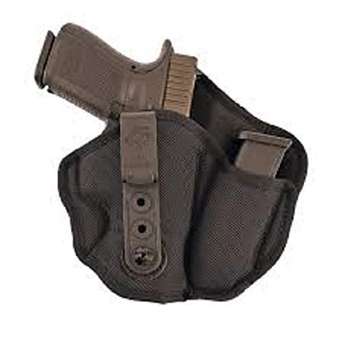 Gunhide, M89, Inner Piece 2.0 Inside Waistband Holster, Integrated Magazine Carrier, Right Hand, Black Nylon