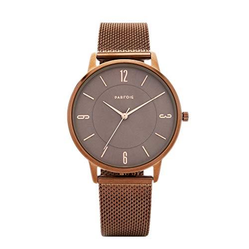 Parfois - Reloj Brown - Mujeres - Tallas Única - Marron: Amazon.es: Relojes