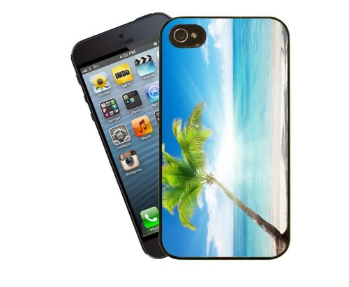 Scène de plage, 2–Coque pour Apple iPhone 5/5s-By Eclipse idées cadeaux