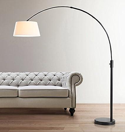 Amazon.com: Hometrend Orbita arco lámpara de pie, regulador ...