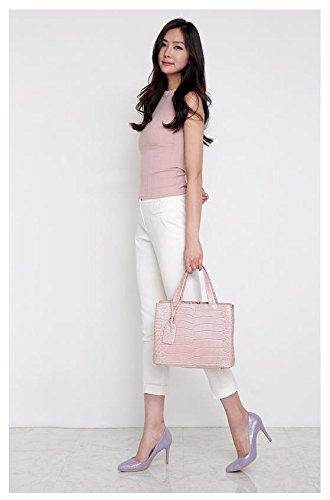 Bellina Wani Tote Shoulder Bag BB1218 (Pink) by Pristine&BB (Image #9)